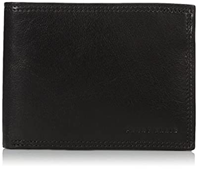 Perry Ellis Men's Perry Ellis Portfolio RFID Blocking Passcase Wallet, Black, One Size