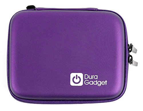DURAGADGET Hard Shell EVA Box-Style Case in Purple - Compatible with the Air Hogs Helix Race Drone 2.4GHz RC Vehicle