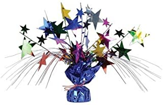 Beistle 57919-mc Star Gleam N Spray Centerpiece?–?パックof 12