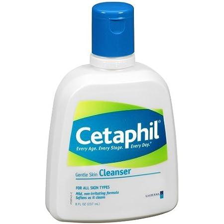 Cetaphil Gentle Skin Cleanser, 8 Fl Oz (Pack of 1)