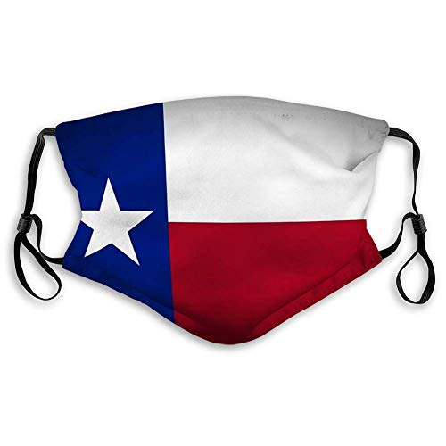 AngelDOU Mouth Cover Face Scraf Flag of Texas
