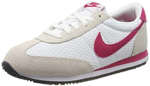 Nike Damen Oceania Textile Laufschuhe, Weiß (White/Wild Cherry/Phantom 104), 41 EU