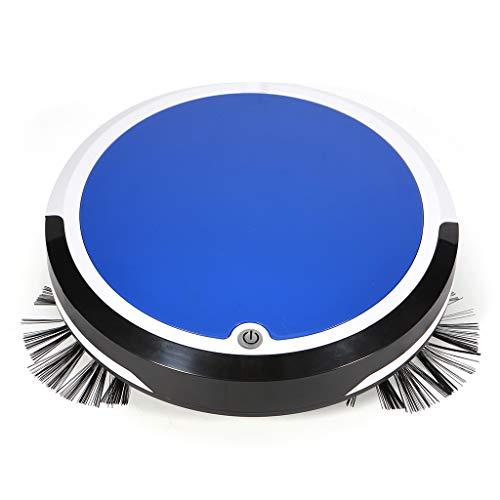 Staubsauger Roboter, Huhu833 Wiederaufladbare intelligenter Roboter Staubsauger Boden Reiniger kehrende Saugkraft (Blau)
