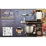 Homelux 3 En 1, Robot De Cocina Negro, 5 Litros 2000 W.