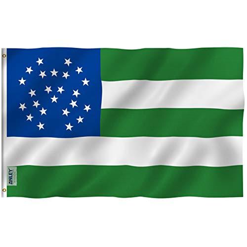 ANLEY Fly Breeze 3x5 Foot (90x150 cm) NYPD Vlag van de politie van New York - Levendige kleuren en UV-lichtbestendig - Canvaskop en dubbel gestikt - Vlaggen van de politie eren met koperen ringen 3 X 5 Ft