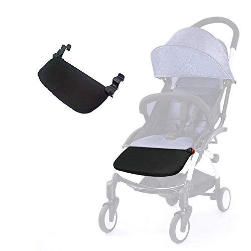 Silla de paseo reposapiés 8.5 pulgadas Accesorios para Babyzen Yoyo Yoya Extensión de pies Infant Pram Footboard (18cm)