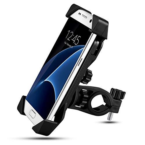 Nasharia Handyhalterung Fahrrad,Universal Fahrrad Motorrad Handyhalter 360°Drehbarem telefonhalter Fahrrad Fahrrad-Lenker Handyhalter Für for IOS Android GPS Devices(4.0-6.5 Zoll 2019