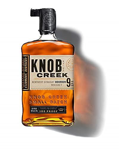 Knob Creek, Bourbon Whiskey invecchiato 9 anni - bottiglia in vetro da 700 ml