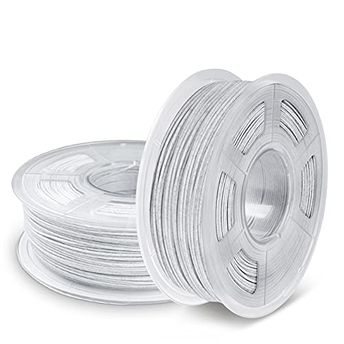 JIAN LIN 2Rolls/Set PLA Marble Filament 3D Printer Print Filament Plastic 3D Printing Materials Frame 1kg