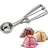 cuchara 1 unids helado Cucharada de cocina utensilios de cocina de acero inoxidable puré de papa helado cuchara cuchara herramientas de helado gadgets de cocina ( Color : Silver , Size : 5cm )