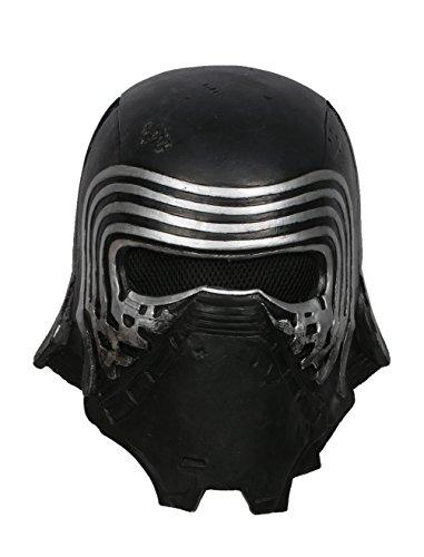 Xcoser Kylo Maske Deluxe Black Series Latex Helm Herren Cosplay Kostüm Replik für Erwachsene Kleidung Zubehör Merchandise