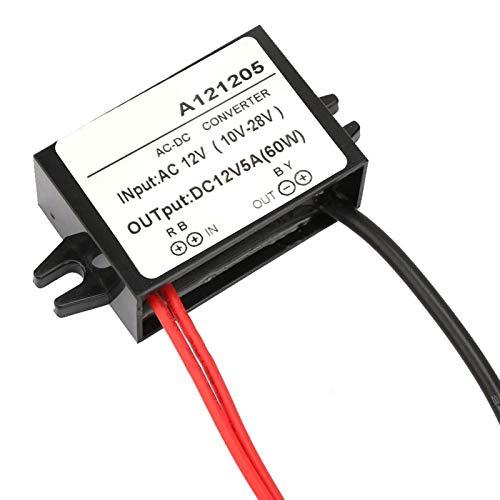 Fuente de alimentación de componentes SMD IP67 paso hacia abajo fuente de alimentación DC 12V convertidor para cámara de monitor (5A)