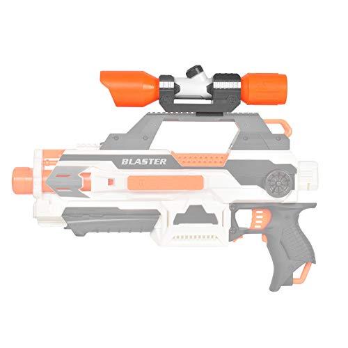 DaMohony Zielfernrohr für Nerf Spielzeugpistole, Kunststoff Zielfernrohr Aufsatz mit Absehen Zielzubehör für Nerf Modifizieren Sie das Spielzeug Nerf Pistolenzubehör