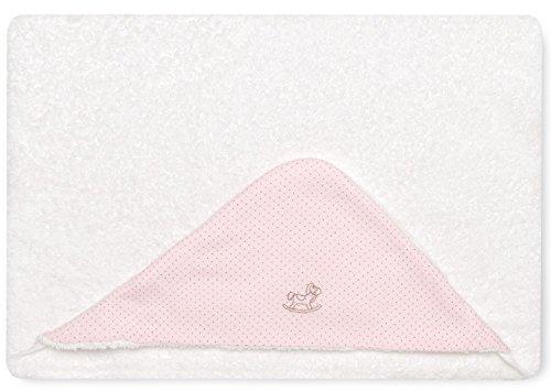 Bimbi 00705104 – Maxicapa Motif Dots, 100 x 100 cm, couleur rose