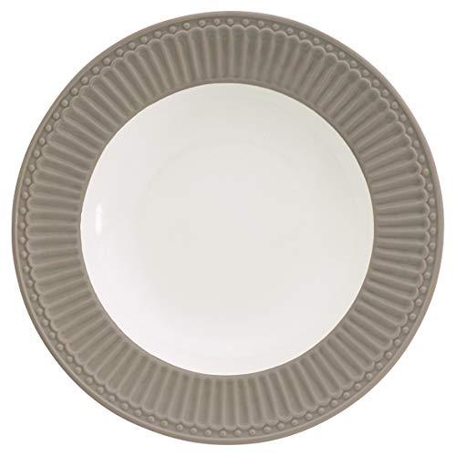 GreenGate- Pasta Teller/Deep Plate - Alice warm Grey D: ca 21 cm