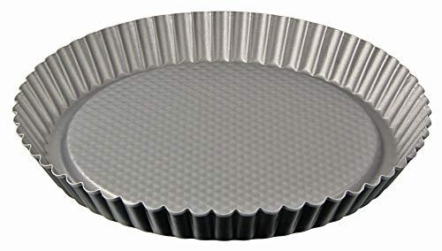 Zenker 6921 Moule à Tarte Energy Ø28 cm Anthracite-Argent, Acier Inoxydable, 28 x 28 x 3,5
