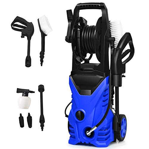 Goplus Electric Pressure Washer High Power Machine w/ 16.5ft...