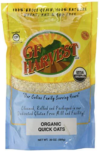 GF Harvest Organic Quick Oats,Gluten Free, 20 Ounce Bag