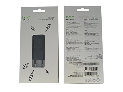 Original HTC TC E250 Ladeadapter + Datenkabel DC M410, Ladegerät / Netzteil / Ladekabel für HTC HD2, HTC HD7, HTC 7 Trophy, HTC 7 Mozart inkl. Handy-Punkt Kugelschreiber