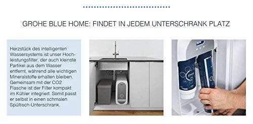 Grohe Blue Home Duo – 2-in-1 Trinkwassersystem und Küchenarmatur (gekühlt, gefiltert, mit Kohlensäure, C-Auslauf) 31455000 - 10