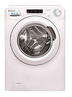 Candy Smart Pro CSOW 4955DC Freestanding Washer Dryer, WiFi Connected, 10kg Wash/6kg Dry, 1400rpm Spin, White