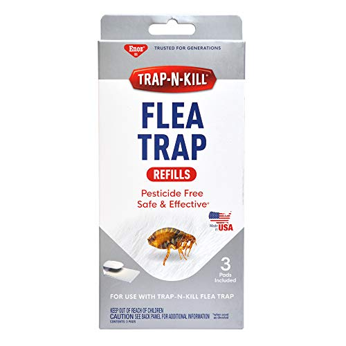 BioCare Replacement Flea Trap Sticky Capture Pads for Use with Flea Traps, Nontoxic and...