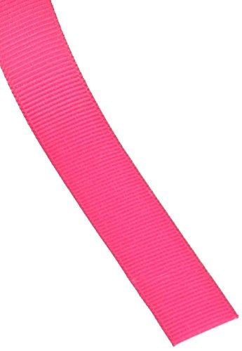 Creative Ideas 50-Yard Solid Grosgrain Ribbon, 5/8-Inch, Hot Pink