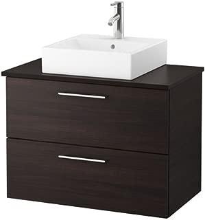 IKEA Vanity, countertop and 17 3/4