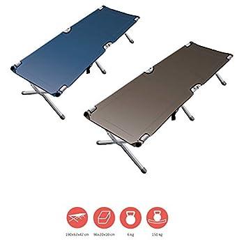 Grand Canyon Topaz Camping Bed M - Lit de Camping Pliable en Aluminium - Lit de Camping Pliable d'extérieur - Faucon (Marron)