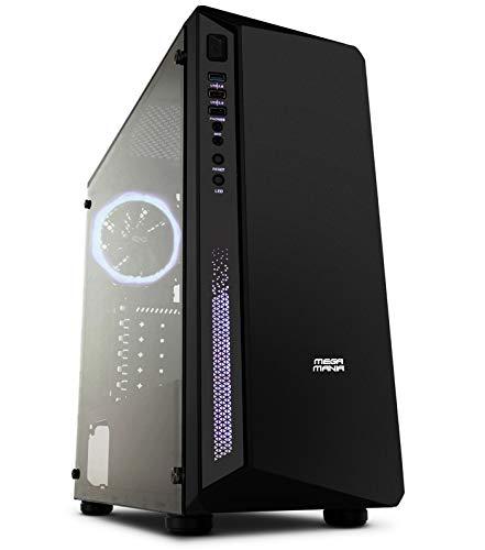 Megamania PC Ordenador de Sobremesa Intel Core i9 9900K (8 Núcleos up to 5Ghz) | 16GB DDR4 | SSD 480GB | VGA Intel UHD 4K MultiScreen | WiFi 1200MPS | USB 3.1 y Tipo C(i9 9900K)
