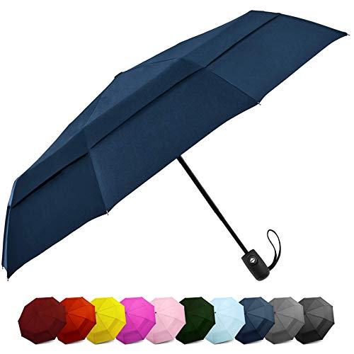 Our #1 Pick is the EEZ-Y Windproof Travel Car Umbrella
