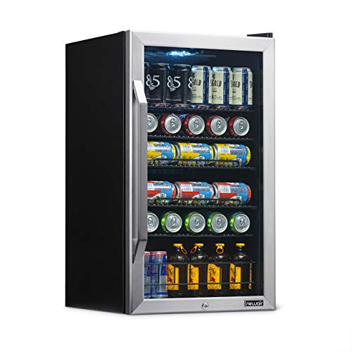 NewAir AB-1200X Beverage Refrigerator, Silver, 126 Can