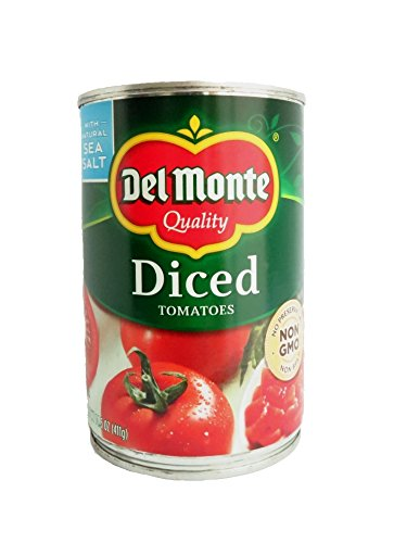 Del Monte Canned Diced Tomatoes, 14.5-Ounce