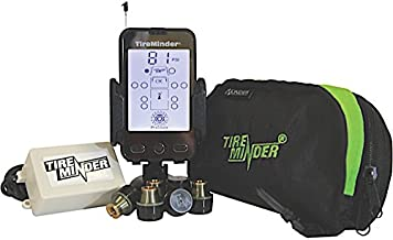 TireMinder A1A Tire Pressure Monitoring System (TPMS) with 6 Transmitters for RVs, MotorHomes, 5th Wheels, Motor Coaches and Trailers