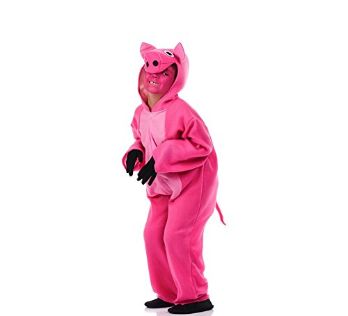 El Rey del Carnaval Disfraz de Cerdito Rosa para nio