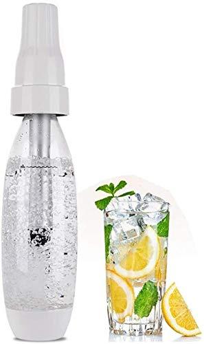 HEMFV Máquina de Hacer Hielo portátil Sifón portátil Manual Burbuja de Agua carbonatada sodas automático Mini-Soft Drink Viaje Jugo de Soda Fabricante de Spritzers Spritzers
