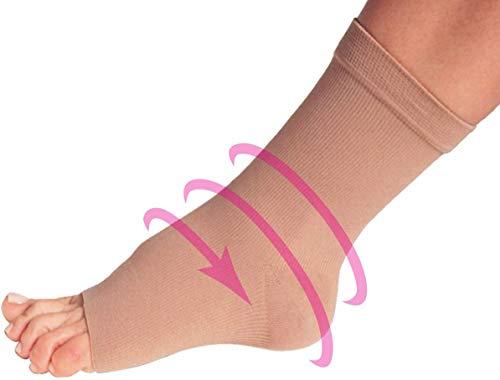 PediFix Compression Anklet Lightweight Elastic Ankle Bandage #3 Medium