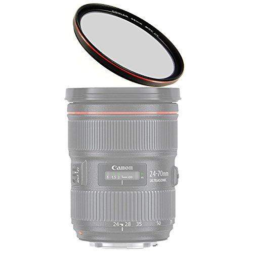 Coolen 52mm HD Mrc ultra sottile filtro UV MC W/esterno telaio rosso placcatura F/videocamera Sony fdr-ax33hdr-pj790V hdr-pj760V dcr-trv900vfr-52ccd-tr3300ccd-tr555dcr-trv900dcr-vx1000dcr-vx700