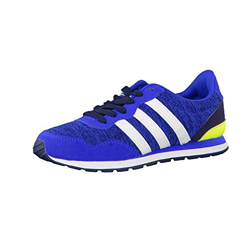 adidas NEO Kinder Sneaker V Jog K Blue/Ftwr White/Collegiate Navy 28