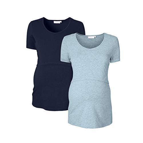 2er-Pack Umstands- und Still-T-Shirt