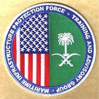 MIPF-TAG Maritime Infrastructure Protection Force W5453 USCG Coast Guard Patch by HighQ Store