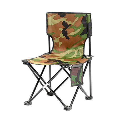 NaisiCore Campingstühle, Bewegliches Im Freien Angeln Hocker, Camouflage Folding Leichten Camping Strand-Spielraum-Sitz Für Outdoor-Einsatz in Innenräumen