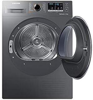 Samsung 9 Kg Dryer with Reversible Door, Inox - DV90M5000QX, 1 Year Warranty