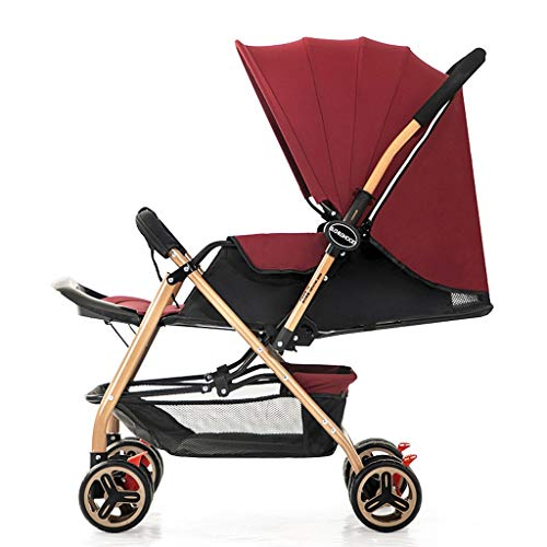 New JIAX Baby Stroller for Newborn and Toddler - Convertible Stroller Compact Single Baby Carriage S...