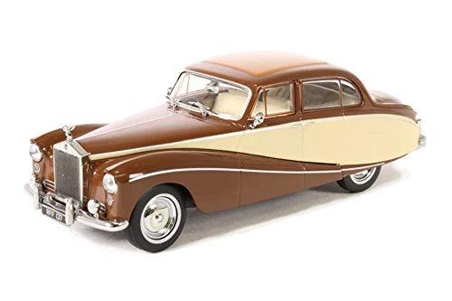 Oxford Diecast 1/43 Scale 43EMP001 - Rolls Royce Silver Cloud - Brown Cream
