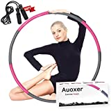 Auoxer Fitness Exercise Weighted hoops, Lose Weight Fast by Fun...