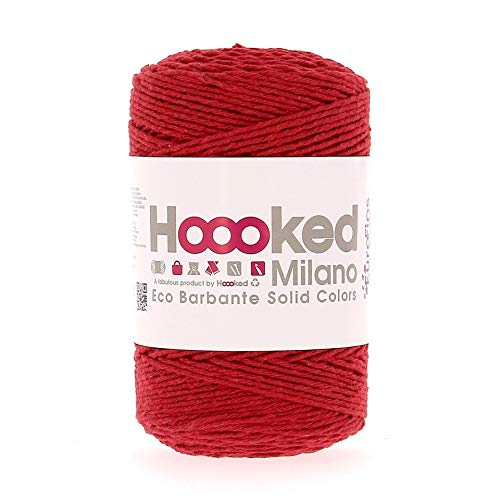 Hoooked Eco Barbante - Ovillo de lana (200 g, 204 m), color...