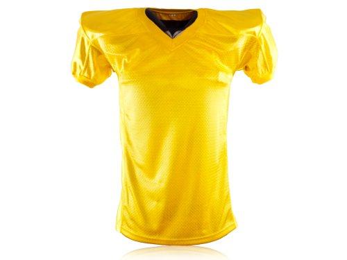 Full Force Herren Trikot Profi Football Shirt Gamejersey MY, gelb, 5XL, FF0208130819