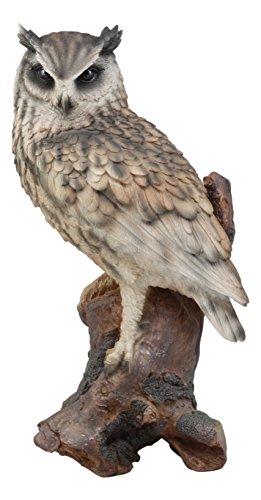 real looking owl figurines