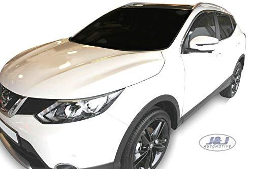 J&J AUTOMOTIVE DEFLETTORI ARIA ANTITURBO PER Nissan Qashqai J11 2014-2018 4 pezzi